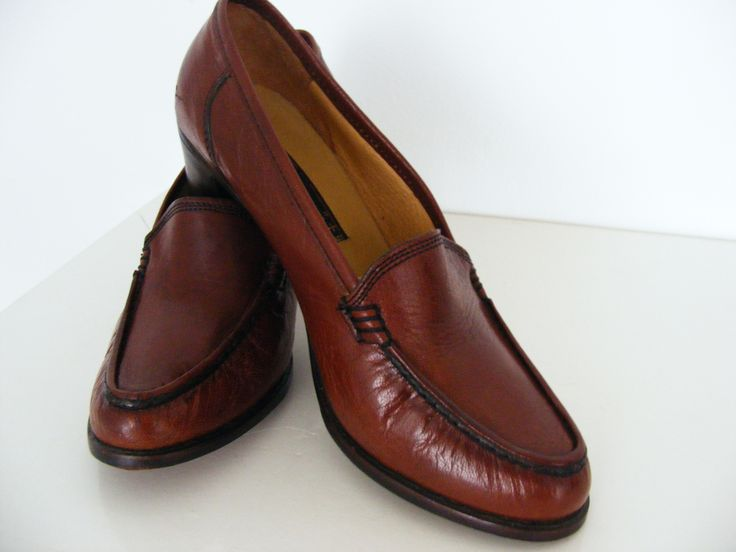 1970s loafers, genuine leather