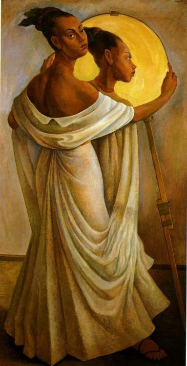 , óleo sobre lienzo de Diego Rivera (1886-1957, Mexico)