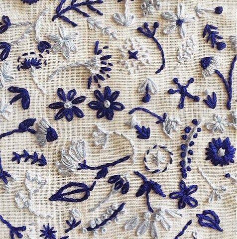 A Textile a Day: Cactus studio