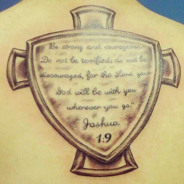 Joshua 1 9 tattoo joshua 1 9 pinterest joshua 1 9 for Joshua 1 9 tattoo