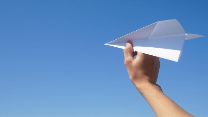 Mainan Pesawat Kertas -- Ini Teknik Melipat dan Terbang Dalam Waktu Lama, Jangan…