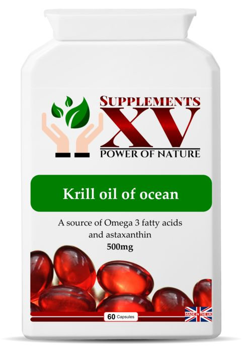 Antarctic+Krill+oil+capsules+-+500mg:  +  Krill+oil+comes+from+krill+-+tiny+shrimp-like+creatures+that+live+in+very+cold+ocean+waters.    Krill+oil+contains+two+types+of+omega-3+fatty+acid:+eicosapentaenoic+acid+(EPA)+and+docosahexaenoic+acid+(DHA).+    EPA+and+DHA+contribute+to+the+normal+functi...
