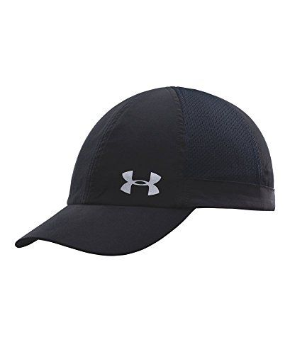 Under Armour Women's Flyfast Cap, Black/Reflective, One Size