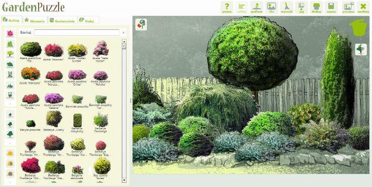 Programy Do Projektowania Ogrodow Gardenpuzzle Projektowanie Ogrodow Ogrod Ekologiczny Wiejskie Ogrody