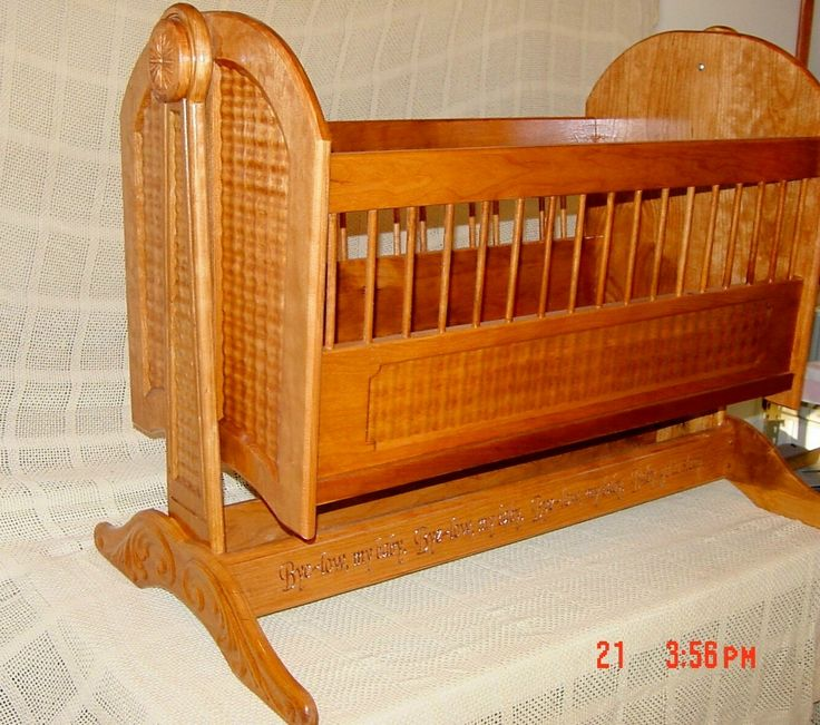 54 Best Wooden Baby Cradles Images On Pinterest Baby Cots Baby Cradles And Baby Room