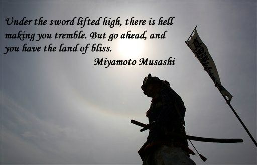 Quotes About Overcoming Challenges Tattoos ... Musashi on Pintere...