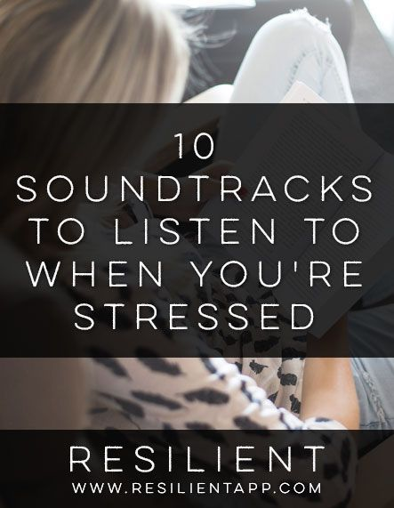 10 Soundtracks to Listen to When You're Stressed #relaxingmusic http://iandarrah.com/