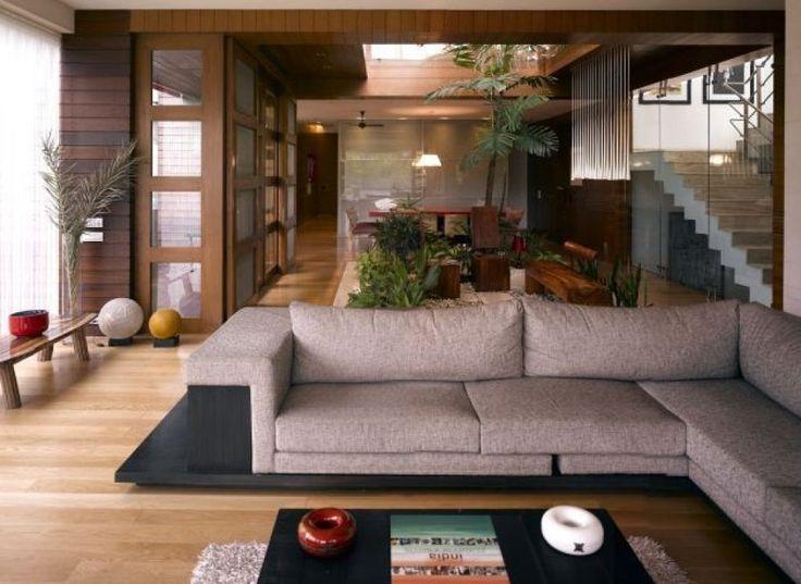 Die besten 25+ Brown l shaped sofas Ideen auf Pinterest gelbe l