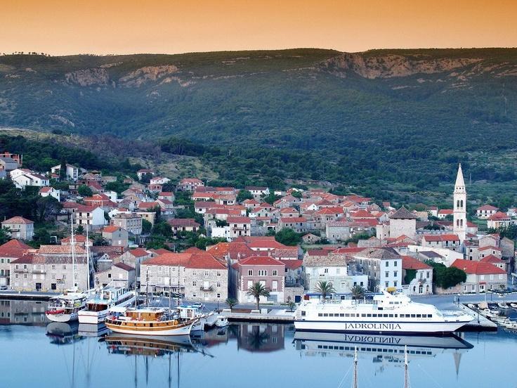 Port of Jelsa, Hvar Island, Croatia