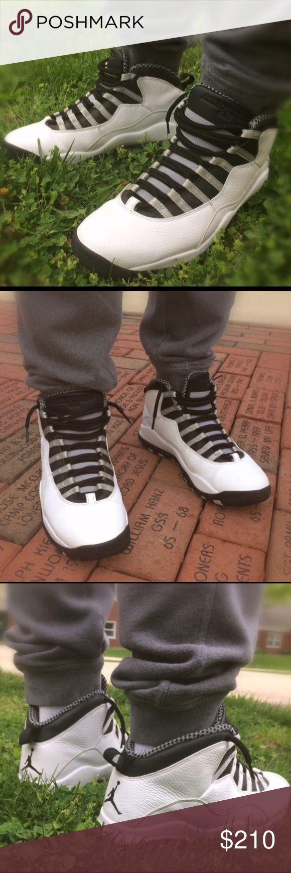 Jordan 10 Steel Pre-owned but in great condition 9/10 Jordan Shoes Sneakers