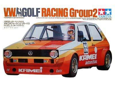 Boxart VW Golf Racing Group 2 24008 Tamiya