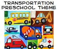 Transportation Theme and Activities for Preschool