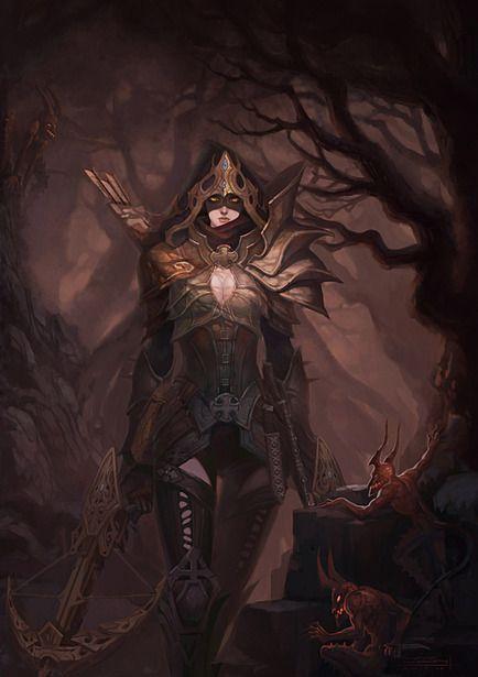Demon Hunter from Diablo 3... 15/05/2012 release. preorder at http://www.game.com.au/diablo-iii/pc-games/DIABLO3PC