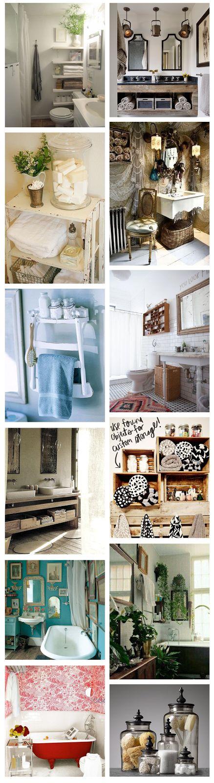 Inspiration Déco : La salle de bain - Swaallow.com - Lifestyle, beauté, déco, DIY, la rochelle