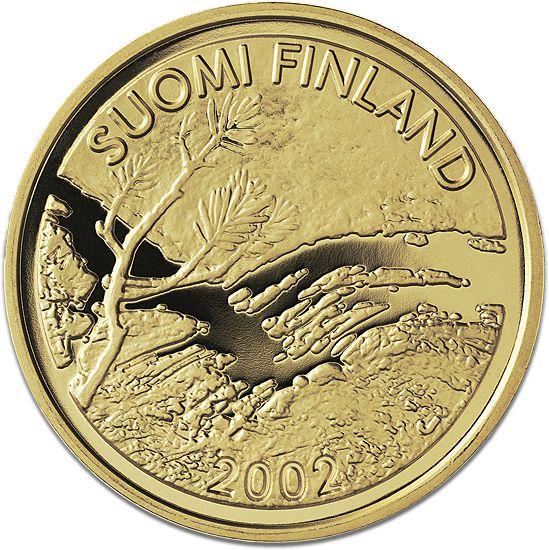 Ensimmäinen suomalainen kultaeuro