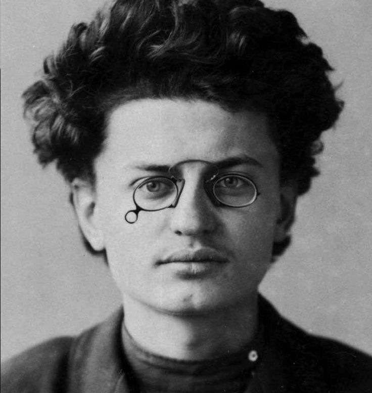 A young Leon Trotsky poses for a police photograph, 1898.