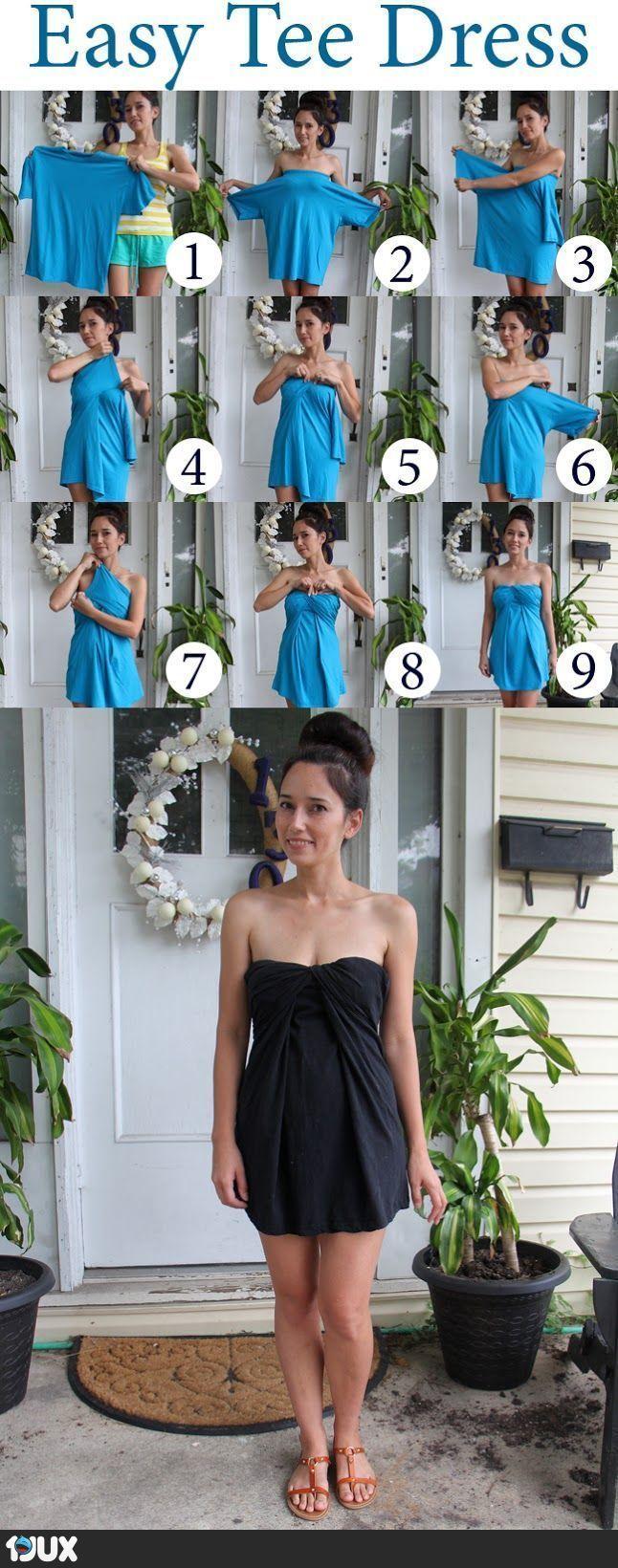 Easy Tee Dress :)