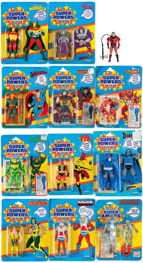 Super Powers Action Figures