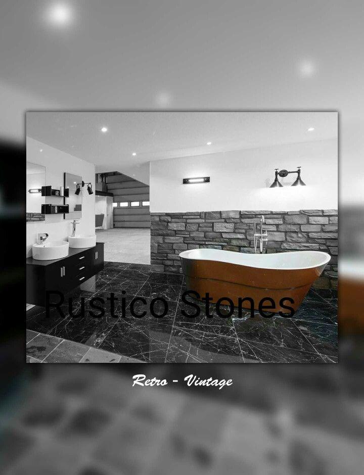 #Rustieke Stenen. #badkamer #industrialdesign  #RusticoStones.nl