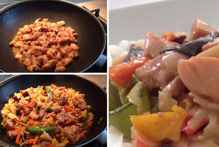 Thai kókuszos csirke rizstésztával, ha valami elképesztően finom ételre vágysz! - Bidista.com - A TippLista!