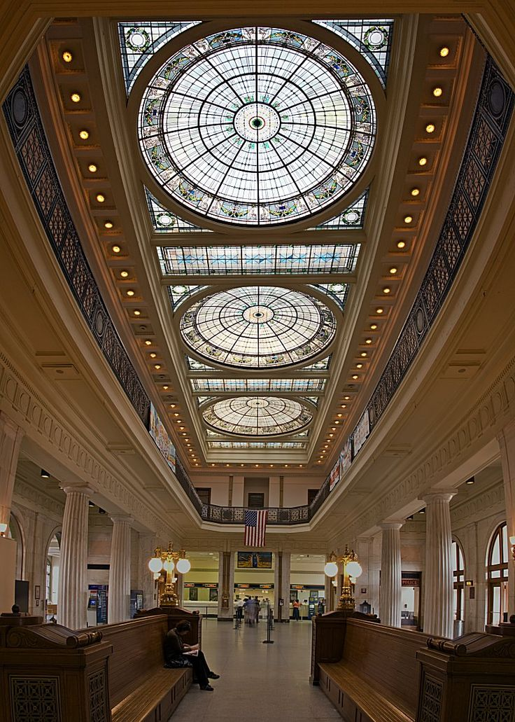 Train station main halls - Penn Station Baltimore, MD
