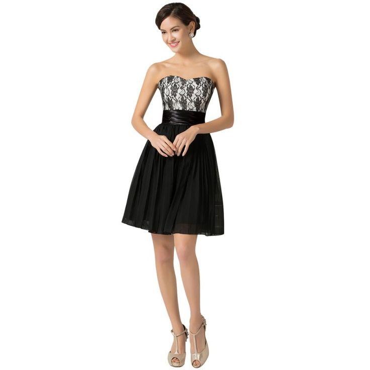 Čierne spoločenské šaty CL7524