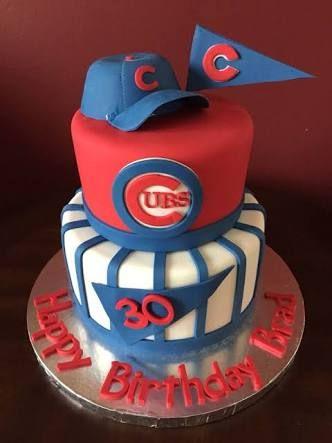 Resultado de imagen para pasteles de los cubs