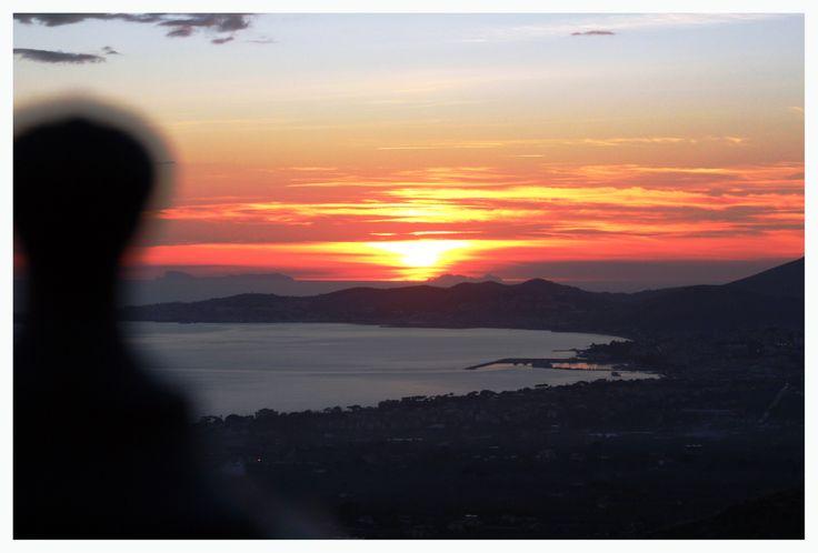 Panorama Gaeta al tramonto