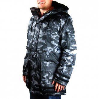 Zoo York Snorkel Jacket Camo