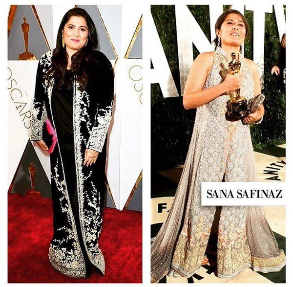 Pakistan's Sharmeen Obaid Chinoy Brings Home Her Second Oscar.... Sharmeen Obaid Chinoy proves herself as the pride of Pakistan by making history as the only Pakistani to win two Oscar awards. The #filmmaker was awarded the #Oscar for her moving documentary A Girl in the River, a 40 minute film about the story  of an 18-year-old girl who fell in #love: Read More #sharmeenobaid #oscar #award #entertainment #proudpakistan #aryzauq #sanasafinaz
