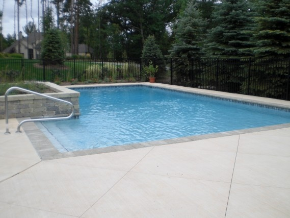33 best images about swimming pools spas by signature on for Swimming pool bed