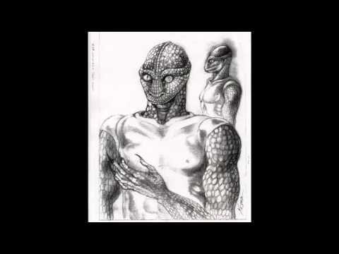 Rozmowa z reptilianinem istotą z rasy gadziej złej