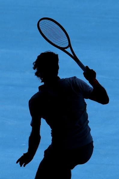 Federer - Australian Open 2014. Certainly is an awesome photograph.