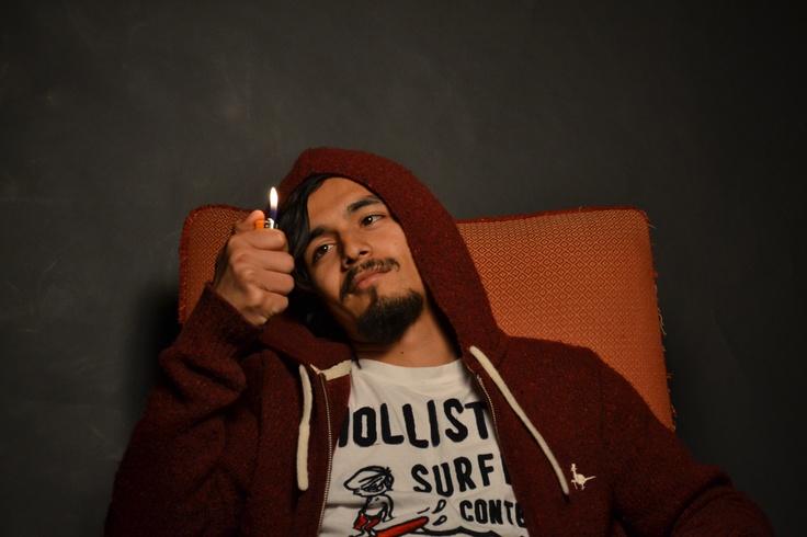 Aarjan looking so emoshh with the lighter