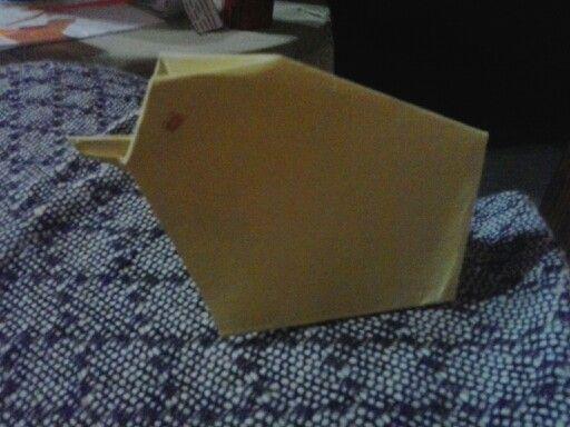 Easy chicken origami