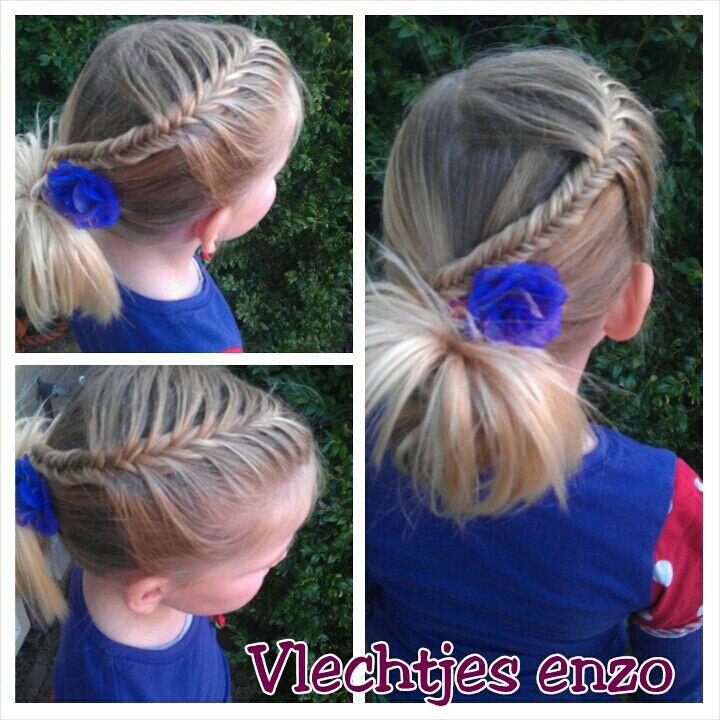 Fishtail braid  @Vlechtjes enzo