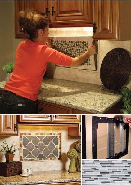 134 Best Images About Kitchen Decor Backspash On Pinterest