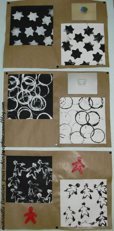 Emprunts d'objets pour empreintes - Les cahiers de Joséphine