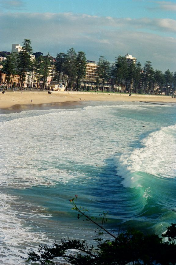 Click here for more information on this photo of Manly Beach. You can buy handmade greeting cards featuring this photo for $4.50 at www.theshortcollection.com.au/Sydney-Beaches