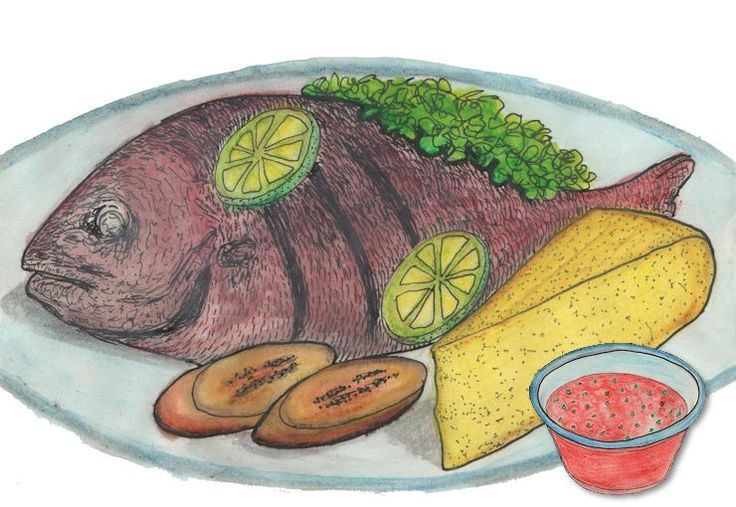 De red snapper of Piska Korá (letterlijk vertaald 'rode vis') is één van de meest gegeten vissoorten op de Antillen.…