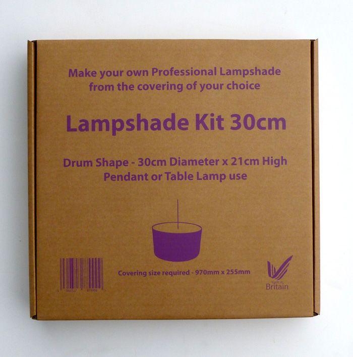 DIY lampshade kit - Fabric Rehab