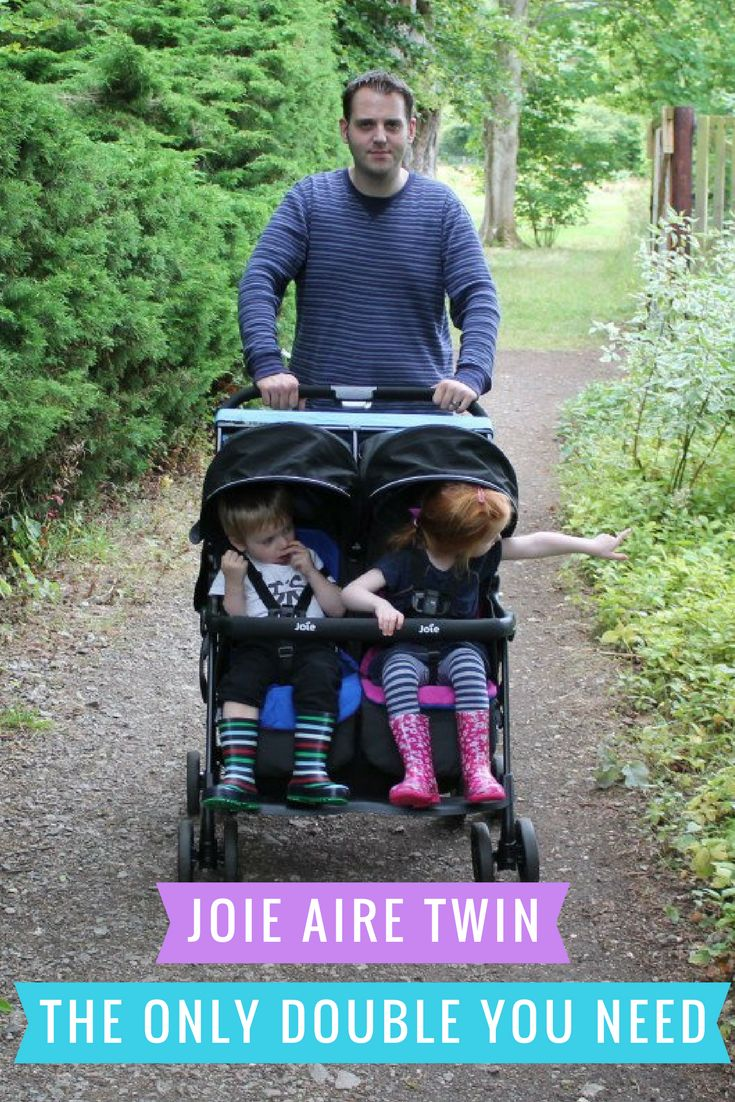 The Joie Aire Twin double stroller is literally the only double you will ever need. Read our full review with plenty more photos too.