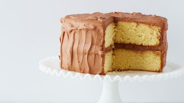 Make Martha Stewart's Hot Milk Cake recipe featured on Martha Bakes on PBS.