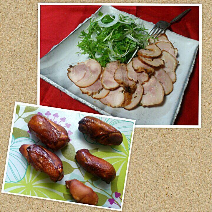 sakurako's dish photo スモークチキン   http://snapdish.co #SnapDish #レシピ #晩ご飯 #パーティー #クリスマス