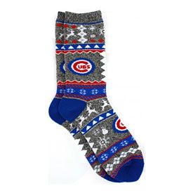 Get this Chicago Cubs Christmas Socks at WrigleyvilleSports.com