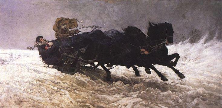 ChelmonskiJozef.1879.PowrotZBalu - Szkoła monachijska – Wikipedia, wolna encyklopedia