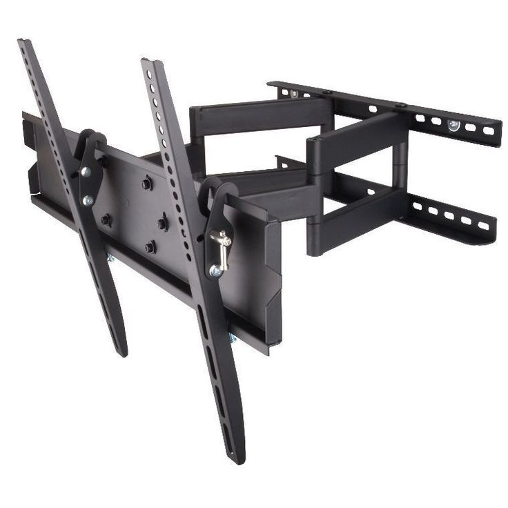 Mount-It! heavy duty articulating TV wall mount offers extreme versatility with a maximum extension of 16.9 inches from the wall. It is suitable for LCD, Plasma or LED TVs, in sizes ranging from 32 to 55 inches.
