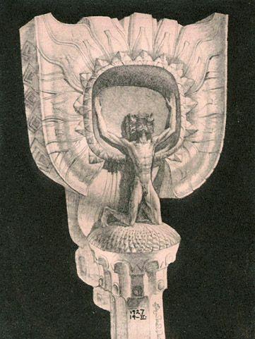 Sunflower_Proj_for Monument_1927