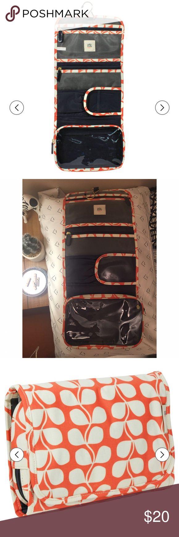 Orla Kiely Flower hanging cosmetic bag New without tags Orla Kiely Bags Cosmetic Bags & Cases