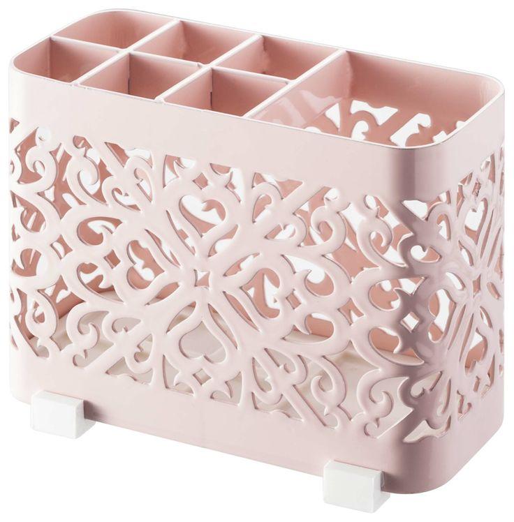 Roze tandenborstelhouder. My favourite!